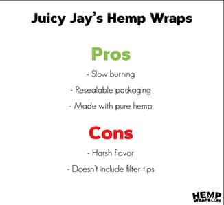 Juicy Jay's Infographic